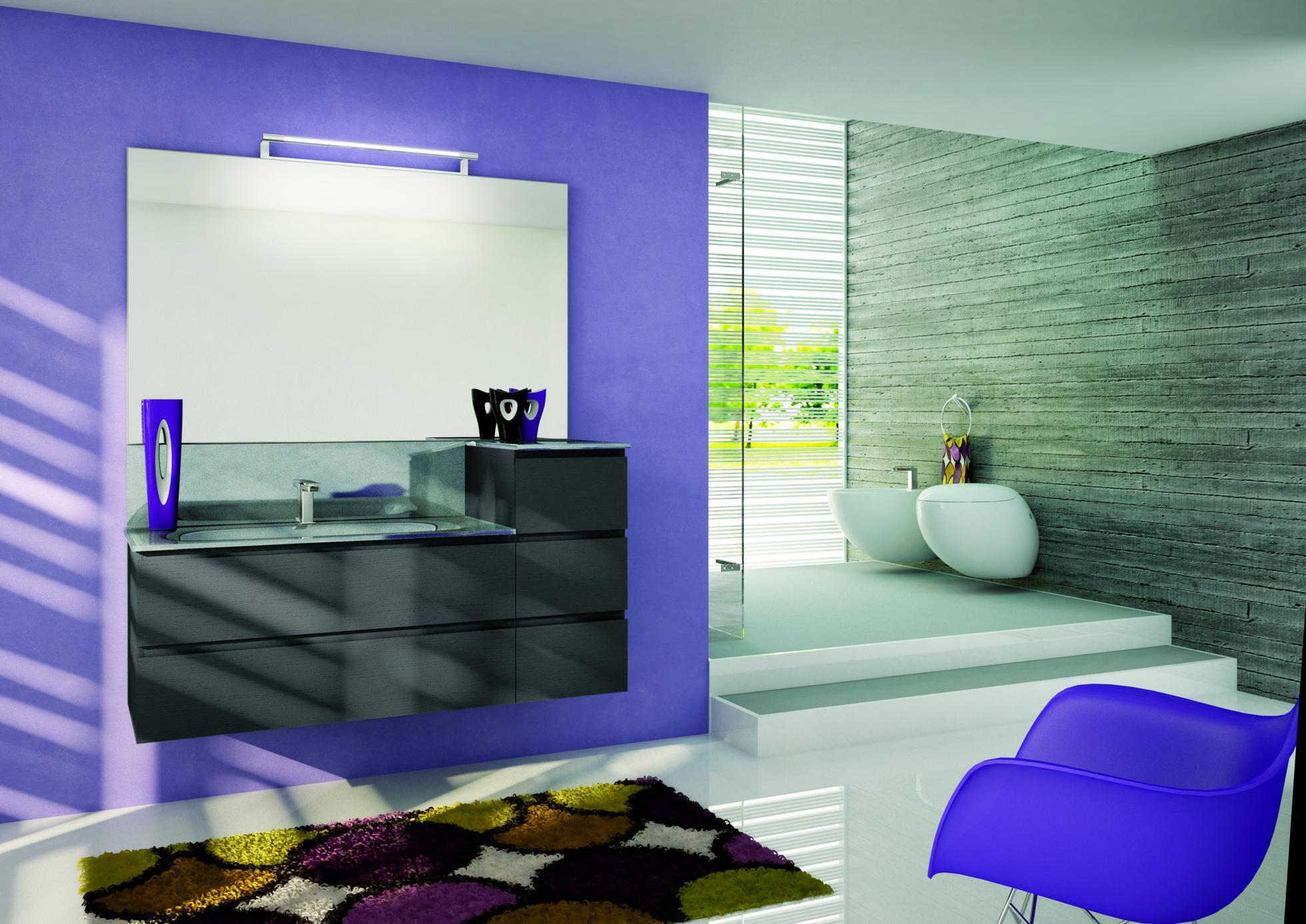 bagno-parete-viola